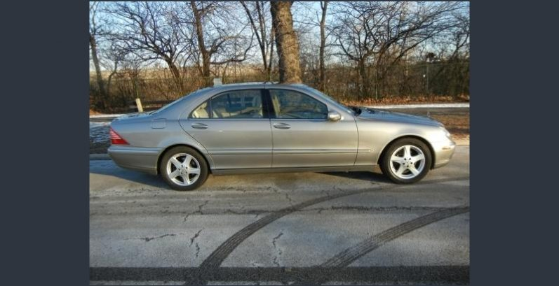 Tommy in Tempe Just Got $4080 for a 2004 Mercedes-Benz S 430