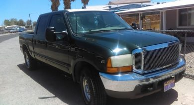 Sidney in Guadalupe Just Got $4410 for a 2001 Ford F250 XLT