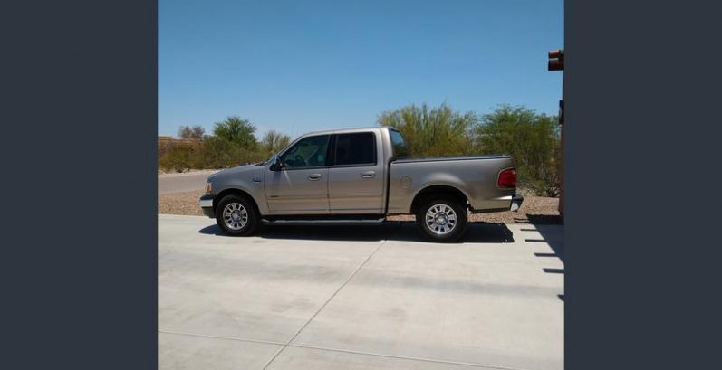 Jeremie in Scottsdale Just Got $2850 for a 2002 Ford F150 2WD