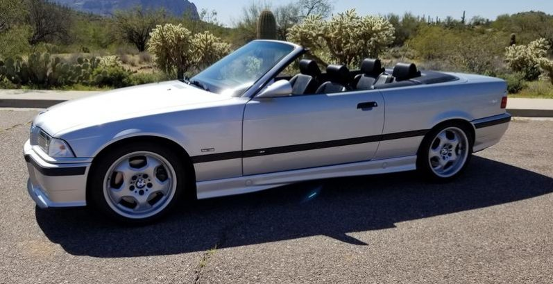 Brady in Chandler Just Got $4500 for a 1999 BMW M3 Convertible