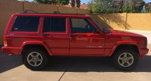 Payton in Surprise Just Got $5400 for a 1998 Jeep Cherokee 4WD