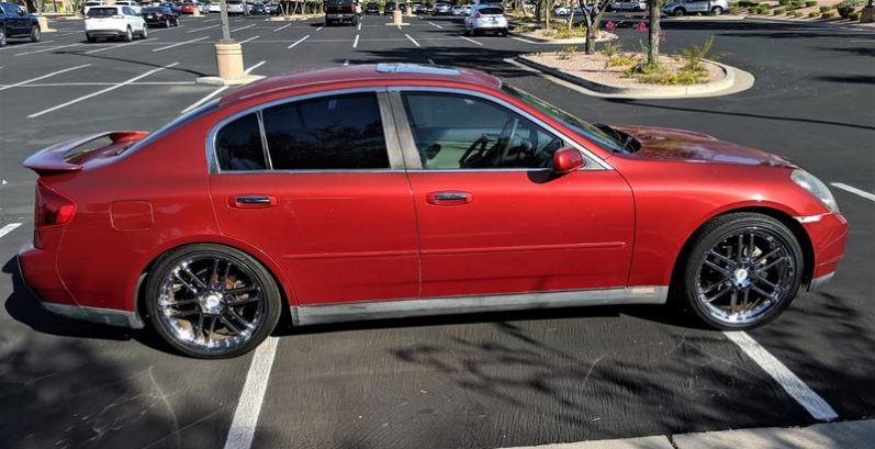 Jayme in Coolidge Just Got $1350 for a 2003 INFINITI G35