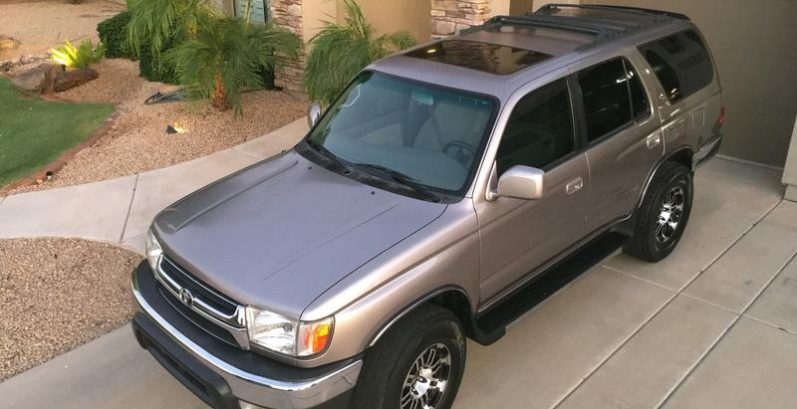 Johnnie in Surprise Just Got $2940 for a 2002 Toyota 4Runner 4WD