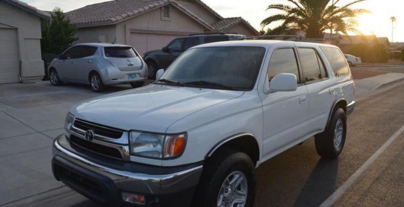 Ahmed in Maricopa Just Got $2700 for a 2001 Toyota 4Runner SR5