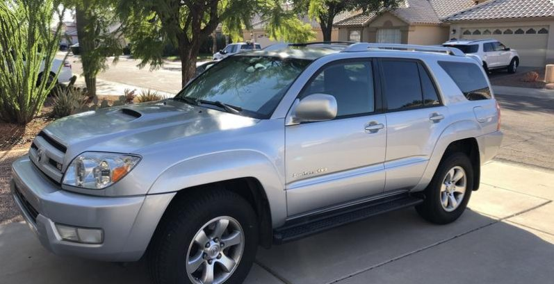 Luther in Carefree Just Got $3300 for a 2004 Toyota 4Runner Sport