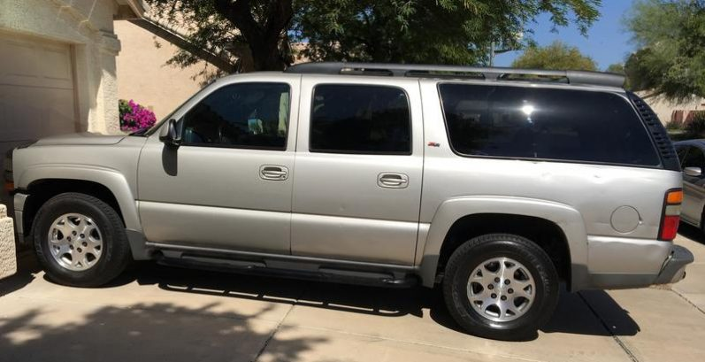 Jim in Youngtown Just Got $2815 for a 2005 Chevrolet Suburban 4WD