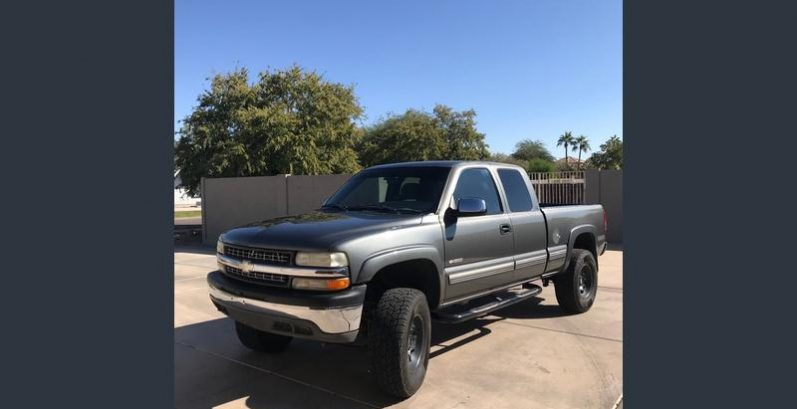 Tate in Carefree Just Got $3900 for a 2000 Chevrolet Silverado 1500