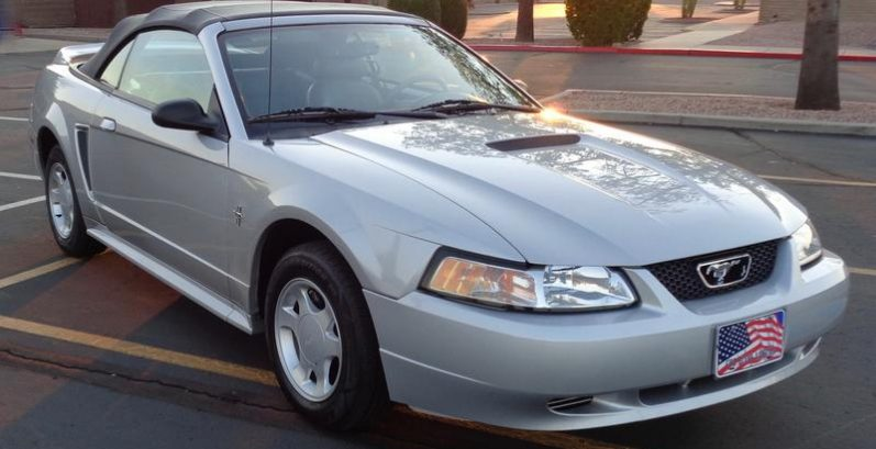 Colt in New River Just Got $1800 for a 2000 Ford Mustang Convertible