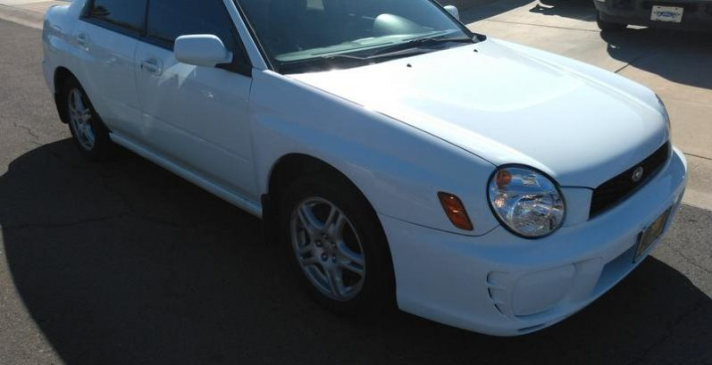 Abraham in Glendale Just Got $3900 for a 2003 Subaru Impreza RS