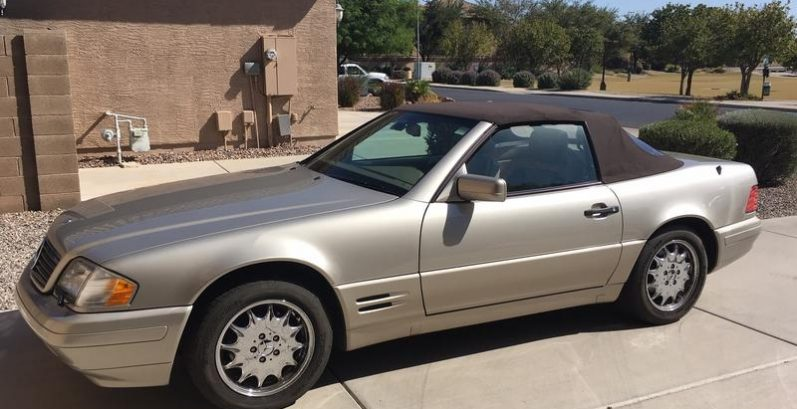 Moshe in Arizona City Just Got $4795 for a 1998 Mercedes-Benz SL 500