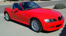 Ethan in Glendale Just Got $5325 for a 2002 BMW Z3 2.5i