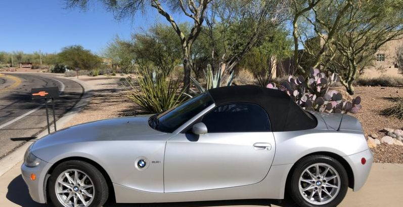 Amya in San Tan Valley Just Got $4500 for a 2005 BMW Z4 2.5i