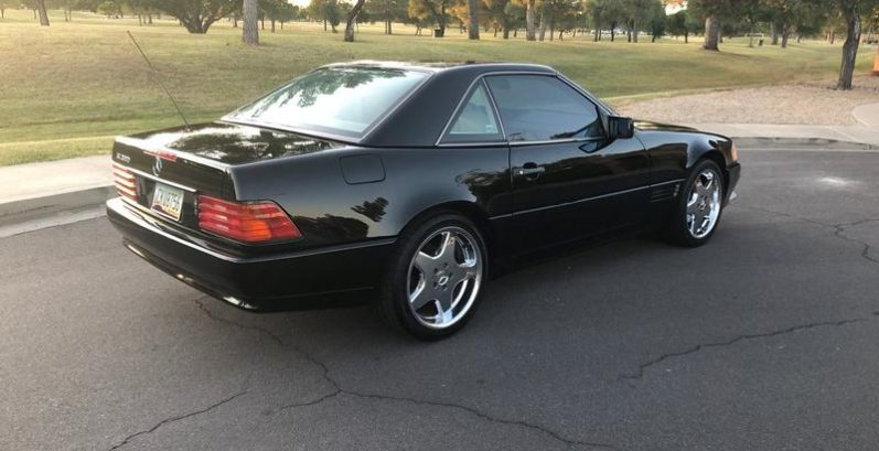 German in Goodyear Just Got $3300 for a 1995 Mercedes-Benz SL 500