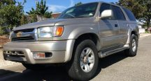 Camron in Litchfield Park Just Got $2070 for a 2002 Toyota 4Runner 2WD