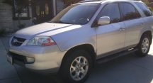 Rhianna in Queen Creek Just Got $2100 for a 2001 Acura MDX Touring